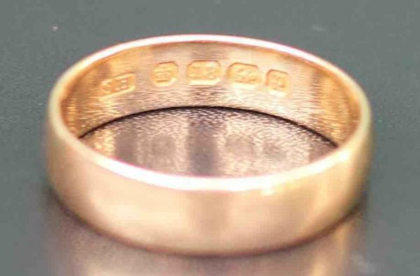 18-CT-GOLD-WEDDING-BAND-US85-UK-R-283284355190