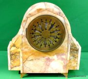ART-DECO-FRENCH-8-DAY-TWO-TRAIN-MARBLE-GARNITURE-CLOCK-SET-282542779920-10