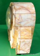 ART-DECO-FRENCH-8-DAY-TWO-TRAIN-MARBLE-GARNITURE-CLOCK-SET-282542779920-8