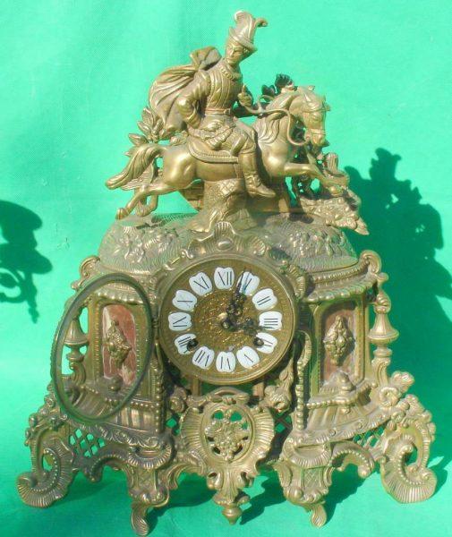 FRANZ-HERMLE-IMPERIAL-HORSEMAN-8-DAY-ITALIAN-CANDELABRA-GARNITURE-CLOCK-SET-283636237190-10