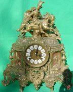 FRANZ-HERMLE-IMPERIAL-HORSEMAN-8-DAY-ITALIAN-CANDELABRA-GARNITURE-CLOCK-SET-283636237190-2