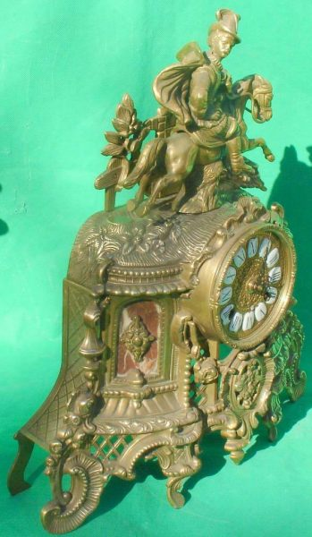 FRANZ-HERMLE-IMPERIAL-HORSEMAN-8-DAY-ITALIAN-CANDELABRA-GARNITURE-CLOCK-SET-283636237190-4