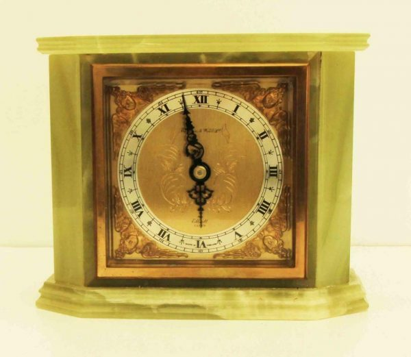 GREEN-ONYX-MARBLE-8-DAY-ELLIOTT-MANTLE-CLOCK-RETAILED-BY-MAPPIN-AND-WEBB-283468532340