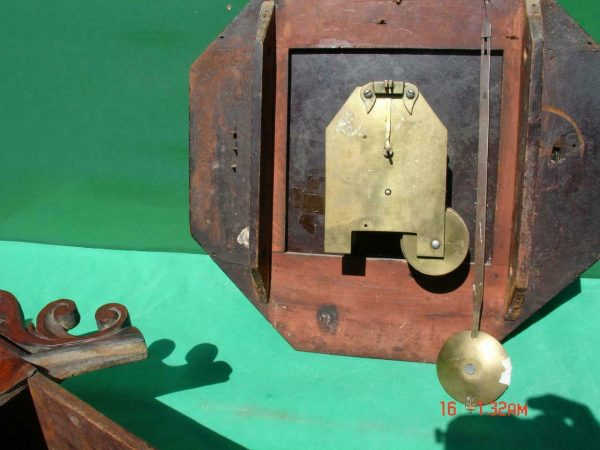 HODSON-WORCESTER-ANTIQUE-ENGLISH-8-DAY-MAHOGANY-FUSEE-SCHOOL-DROPDIAL-CLOCK-283600433040-3