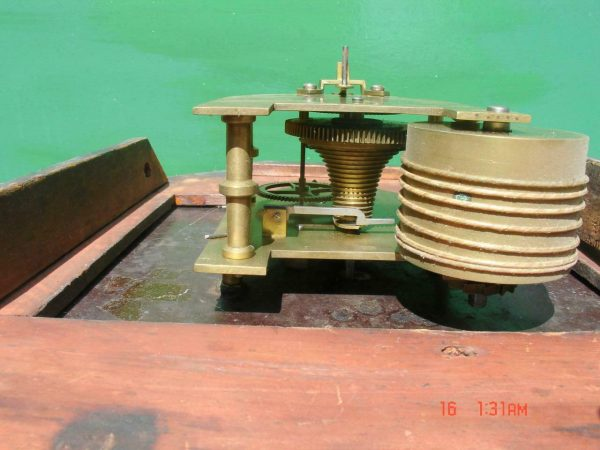HODSON-WORCESTER-ANTIQUE-ENGLISH-8-DAY-MAHOGANY-FUSEE-SCHOOL-DROPDIAL-CLOCK-283600433040-4