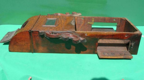 HODSON-WORCESTER-ANTIQUE-ENGLISH-8-DAY-MAHOGANY-FUSEE-SCHOOL-DROPDIAL-CLOCK-283600433040-7