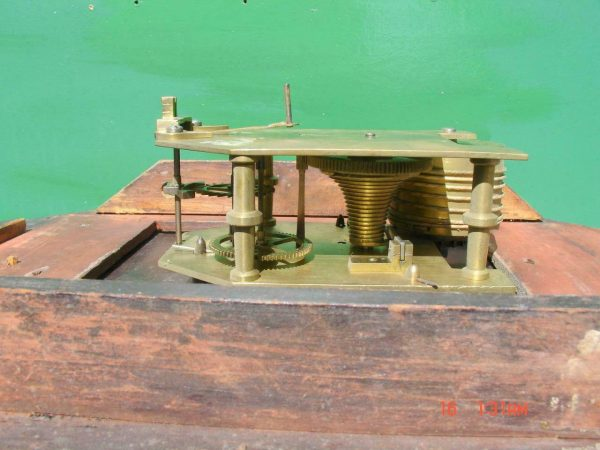 HODSON-WORCESTER-ANTIQUE-ENGLISH-8-DAY-MAHOGANY-FUSEE-SCHOOL-DROPDIAL-CLOCK-283600433040-8