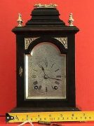 LENZKIRCH-ANTIQUE-GERMAN-8-DAY-SILVERED-ARCH-DIAL-EBONISED-BRACKET-CLOCK-283324735420-2
