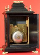 LENZKIRCH-ANTIQUE-GERMAN-8-DAY-SILVERED-ARCH-DIAL-EBONISED-BRACKET-CLOCK-283324735420-9