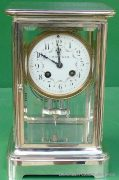 TIFFANY-COART-DECO-FRENCH-JAPY-FRERES-8-DAY-FOUR-GLASS-CRYSTAL-REGULATOR-CLOCK-283410867670-2