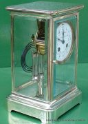 TIFFANY-COART-DECO-FRENCH-JAPY-FRERES-8-DAY-FOUR-GLASS-CRYSTAL-REGULATOR-CLOCK-283410867670-4
