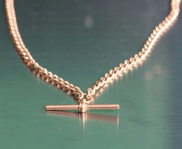 ANTIQUE-9ct-ROSE-GOLD-GENTS-DOUBLE-ALBERT-POCKET-WATCH-CHAIN-FULLY-HALLMARKED-283118320361