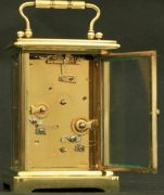 COUILLETT-FRERES-ANTIQUE-FRENCH-8-DAY-ALARM-CARRIAGE-CLOCK-283569626121-8