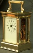 LEPEE-FRENCH-VINTAGE-8-DAY-CORINTHIAN-PILLAR-CARRIAGE-CLOCK-283569572521-3