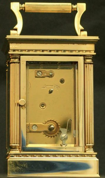 LEPEE-FRENCH-VINTAGE-8-DAY-CORINTHIAN-PILLAR-CARRIAGE-CLOCK-283569572521-7