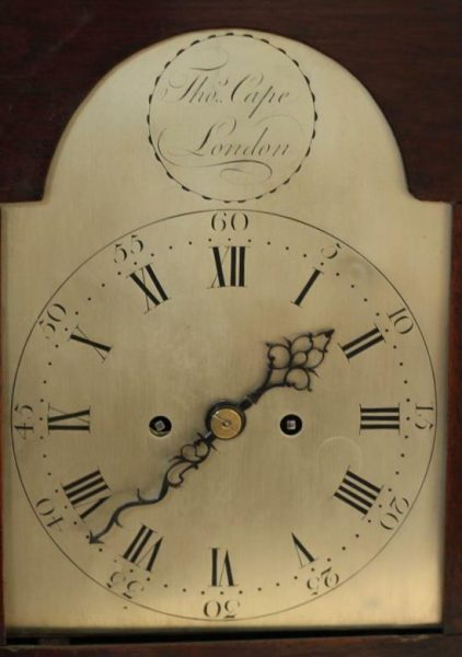 THOMAS-CAPE-LONDON-ANTIQUE-ENGLISH-VERGE-FUSEE-8-DAY-MAHOGANY-BRACKET-CLOCK-283308594181-4