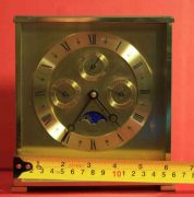 VINTAGE-TIFFANY-CO-MONTH-TIME-DAY-DATE-MOON-PHASE-MANTLE-DESK-CALENDER-CLOCK-283371324281-11
