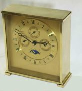 VINTAGE-TIFFANY-CO-MONTH-TIME-DAY-DATE-MOON-PHASE-MANTLE-DESK-CALENDER-CLOCK-283371324281