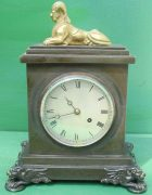 ANTIQUE-ENGLISH-HEARN-LONDON-EGYPTIAN-REVIVAL-8-DAY-FUSEE-BRONZE-TABLE-CLOCK-283569554952