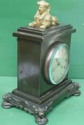 ANTIQUE-ENGLISH-HEARN-LONDON-EGYPTIAN-REVIVAL-8-DAY-FUSEE-BRONZE-TABLE-CLOCK-283569554952-2