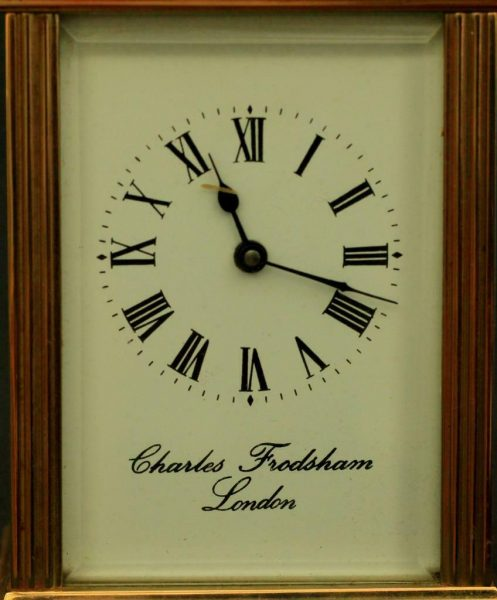 CHARLES-FRODSHAM-VINTAGE-ENGLISH-8-DAY-TIMEPIECE-CARRIAGE-CLOCK-283569618403-2