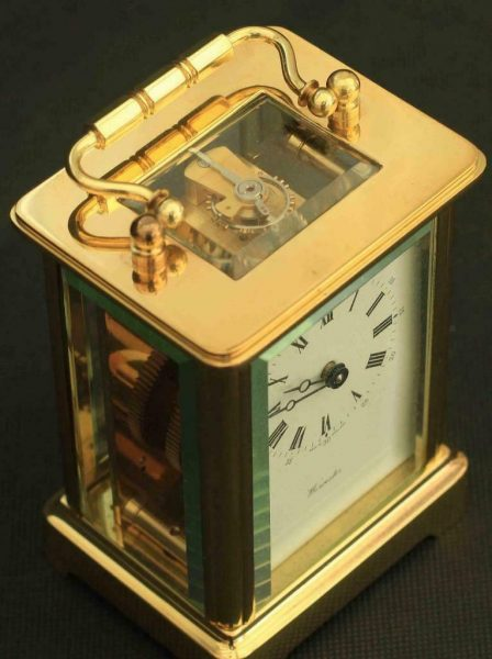 LEPEE-8-DAY-TIMEPIECE-CORNICHE-CARRIAGE-CLOCK-SIGNED-WORCESTER-283468536543-6