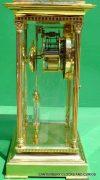 LEPEE-VINTAGE-FRENCH-8-DAY-FOUR-GLASS-CRYSTAL-REGULATOR-MANTLE-TABLE-CLOCK-10kg-283567406933-5