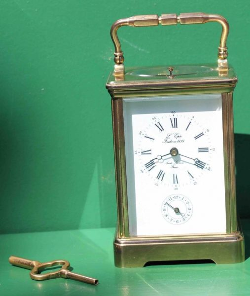 VINTAGE-FRENCH-LEPEE-GRANDE-CORNISH-STRIKING-REPEATER-ALARM-CARRIAGE-CLOCK-283116973353-11