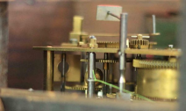 ANTIQUE-FREDERICK-BURT-CO-CORNHILL-8-DAY-TWO-TRAIN-ENGLISH-DROP-DIAL-CLOCK-283538368224-10