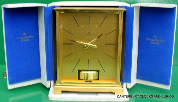 JAEGER-LECOULTRE-VINTAGE-BURGANDY-EMBASSY-ATMOS-CLOCK-ORIGINAL-BOX-SERVICED-283371557844-2