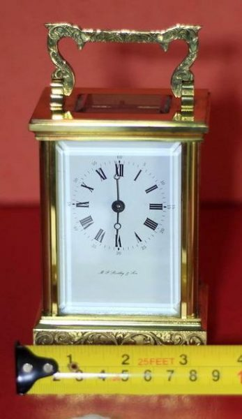 LEPEE-VINTAGE-FRENCH-8-DAY-TIMEPIECE-CARRIAGE-CLOCK-HAND-ENGRAVED-SCROLL-WORK-283324891344-3