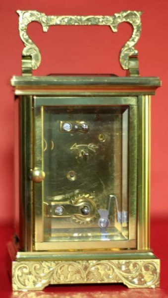 LEPEE-VINTAGE-FRENCH-8-DAY-TIMEPIECE-CARRIAGE-CLOCK-HAND-ENGRAVED-SCROLL-WORK-283324891344-6