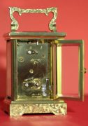 LEPEE-VINTAGE-FRENCH-8-DAY-TIMEPIECE-CARRIAGE-CLOCK-HAND-ENGRAVED-SCROLL-WORK-283324891344-7