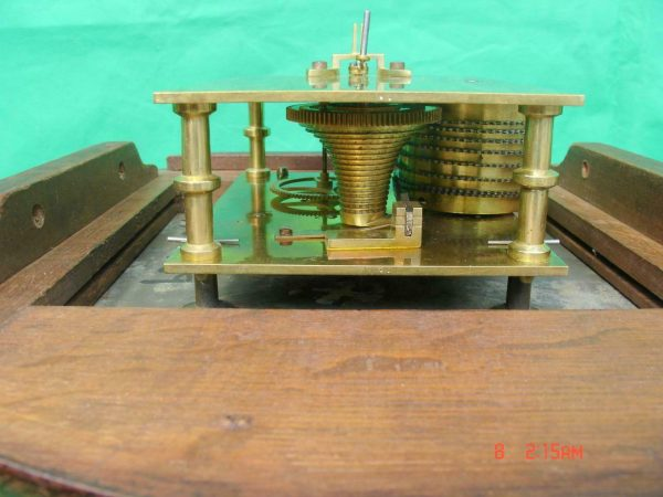 THWAITES-REED-NORTH-LONDON-RAILWAY-8-DAY-FUSEE-DIAL-CLOCK-13886-283637210634-10