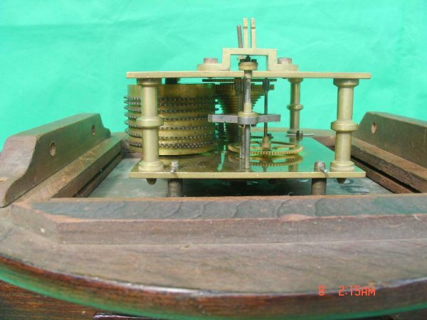 THWAITES-REED-NORTH-LONDON-RAILWAY-8-DAY-FUSEE-DIAL-CLOCK-13886-283637210634-12