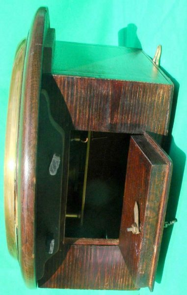 THWAITES-REED-NORTH-LONDON-RAILWAY-8-DAY-FUSEE-DIAL-CLOCK-13886-283637210634-4