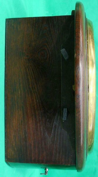 THWAITES-REED-NORTH-LONDON-RAILWAY-8-DAY-FUSEE-DIAL-CLOCK-13886-283637210634-6