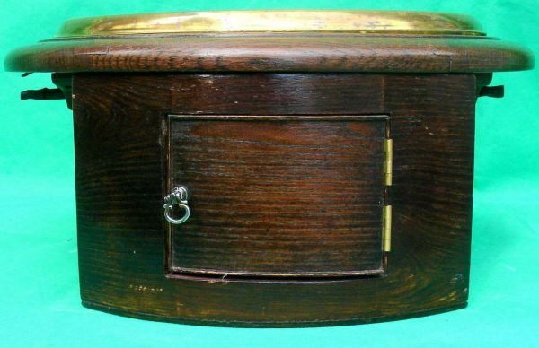 THWAITES-REED-NORTH-LONDON-RAILWAY-8-DAY-FUSEE-DIAL-CLOCK-13886-283637210634-7