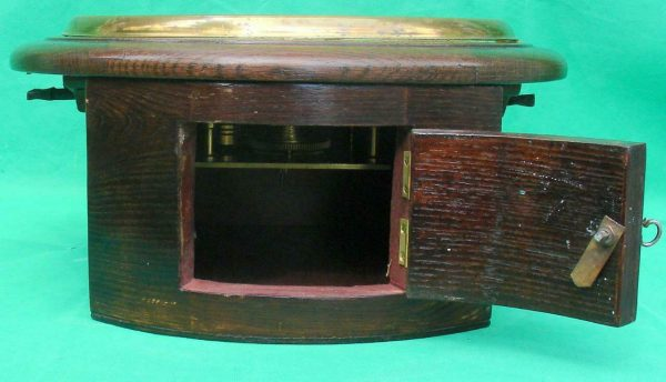THWAITES-REED-NORTH-LONDON-RAILWAY-8-DAY-FUSEE-DIAL-CLOCK-13886-283637210634-8