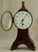 ANTIQUE-ENGLISH-8-DAY-BALLOON-HEAD-MAHOGANY-MANTLE-CLOCK-283308627745-8