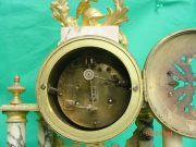 ANTIQUE-FRENCH-MARBLE-ROCOCO-PORTICO-GARNITURE-URN-CLOCK-SET-93328-283637579315-11