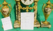 ANTIQUE-FRENCH-MARBLE-ROCOCO-PORTICO-GARNITURE-URN-CLOCK-SET-93328-283637579315-12