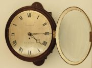 EARLY-ENGLISH-12-INCH-8-DAY-FUSEE-DIAL-CLOCK-SIGNED-BARNARD-LONDON-283468346875-4