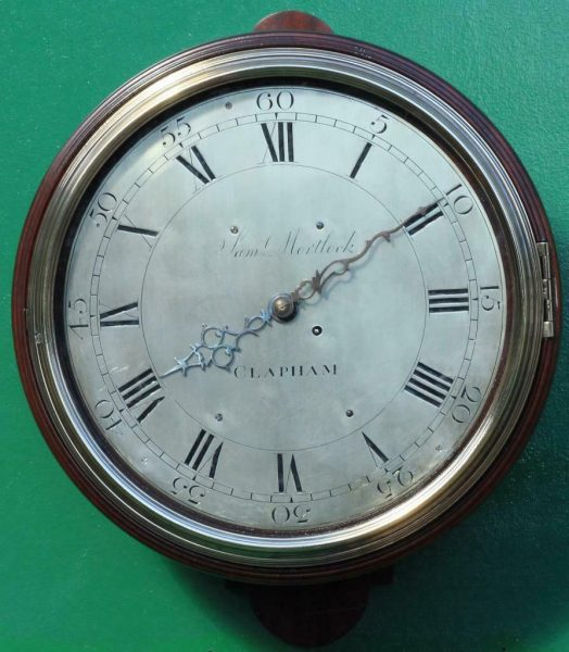 EARLY-ENGLISH-GEORGIAN-8-DAY-VERGE-FUSEE-12-DIAL-CLOCK-SAMUEL-MORTLOCK-CLAPHAM-283413149255-2
