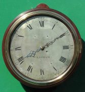 EARLY-ENGLISH-GEORGIAN-8-DAY-VERGE-FUSEE-12-DIAL-CLOCK-SAMUEL-MORTLOCK-CLAPHAM-283413149255-3