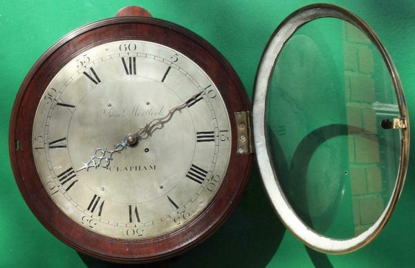 EARLY-ENGLISH-GEORGIAN-8-DAY-VERGE-FUSEE-12-DIAL-CLOCK-SAMUEL-MORTLOCK-CLAPHAM-283413149255-4