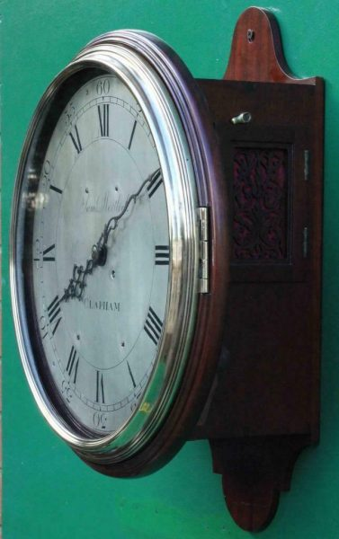 EARLY-ENGLISH-GEORGIAN-8-DAY-VERGE-FUSEE-12-DIAL-CLOCK-SAMUEL-MORTLOCK-CLAPHAM-283413149255-6