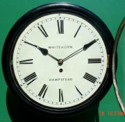 WHITEHORN-HAMPSTEAD-ANTIQUE-8-DAY-EBONISED-12-FUSEE-DIAL-CLOCK-283600414785-2