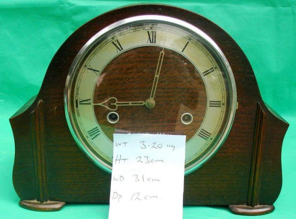 ENGLISH-1920s-WESTMINSTER-CHIMES-8-DAY-MANTLE-CLOCK-283637674736-10