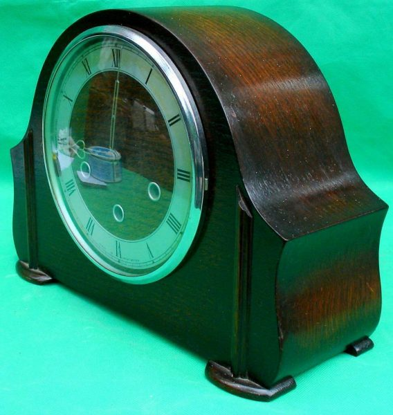 ENGLISH-1920s-WESTMINSTER-CHIMES-8-DAY-MANTLE-CLOCK-283637674736-3